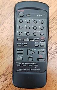 Black TV VCR remote Control 076R0CE040 tested