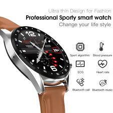 LEMFO L7 Bluetooth Smartwatch Phone EKG Blutdruck Pulsschlag Fitness Tracker