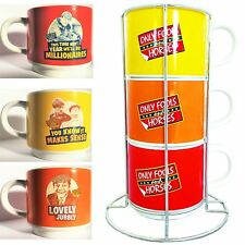 Only Fools & Horses Stacking Coffee Cup / Tea Set  -  DISCOUNTED