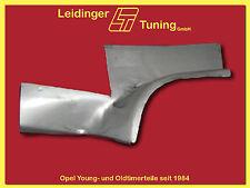 Kadett B  Olympia A  Opel-GT   Chassisblech hinten links
