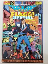 AMERICAN FLAGG! SPECIAL #1 (1986) FIRST COMICS 1ST PRINT! HOWARD CHAYKIN! HOT!