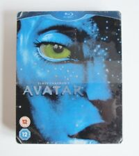 AVATAR BLU RAY + GUIDE - STEELBOOK - UK VERSION - NEW / SEALED (SEE IMAGES)