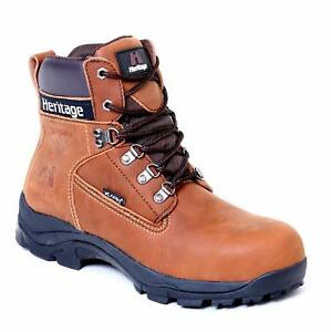 """XPERT Heritage """"Legend"""" Safety Boots (Crazy Horse Brown)"""