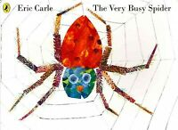 Very Busy Spider, Paperback by Carle, Eric, Brand New, Free shipping