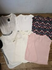 Bundle of 6 x Next Ladies Size 6 Summer Tops - ZT