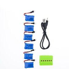 X6 Battery + USB Charger Set Syma X11 3.7V 200mAh 20C  Syma X4 X13