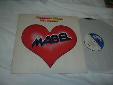 MABEL Message From My Heart LP pre-WHITE LION Mike Tramp EMBOSSED ORIG UK IMPORT