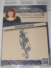 "TATTERED LACE DIES ""MAJESTIC ROSE"" TTLD643 FLORAL - CARDS AND SCRAPBOOKING"