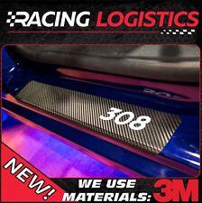 PEUGEOT 308 Carbonio 3D adesivi Battitacco Access Active Allure GT GTI 2014-2017