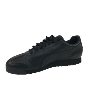 New Puma Roma Basic Classic 353572 17 Black Mens Shoes Sneakers Size 13