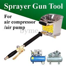 Air Stucco Cement Plaster Texture Hopper Sprayer Gun Wall Plastering Hand Tool