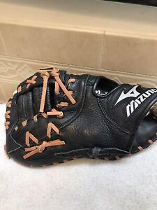 "Mizuno GXF-100D 12"" Youth Baseball Softball First Base Mitt Left Hand Throw"
