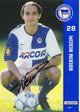 Nderim Nedzipi Hertha BSC Berlin 2001-02 2.SATZ TOP +A25048