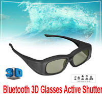 Elikliv Bluetooth 3D Glasses Active LCD Rechargeable 3D For Samsung Panasonic
