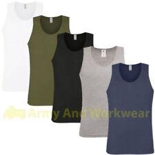 Camisetas de hombre en color principal multicolor sin mangas