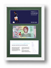 NORTHERN IRELAND LIMITED EDITION FRAMED GEORGE BEST £5 POUND BANKNOTE FIVER