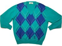 Vintage Pringle Sports Pure Wool Made In Scotland Men's Golf  Sweater Size Large