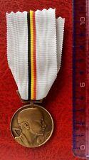 Belgique -Superbe médaille du Mouvement National Belge - Résistance  - WWII