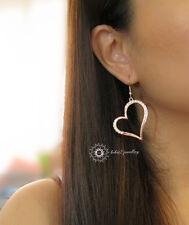 Simulated Diamond/Crystal Large Heat Earring/RGE116G