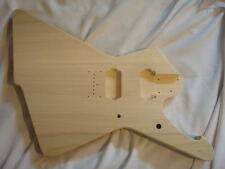 Unfinished Jem Guitar Body - Iceman/Destroyer Hybrid - Fits Ibanez (tm) RG Necks