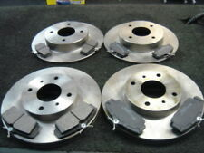 FOR NISSAN PRIMERA P11  FRONT REAR  BRAKE DISCS & PADS ABS