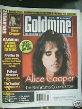 Goldmine Magazine May 12 2006  issue 673 Alice Cooper,steve cropper,beatles