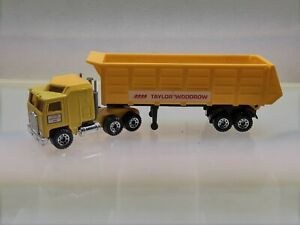 """Matchbox Convoy CY-20 Kenworth Articulated Tipper """"TAYLOR WOODROW"""" ~ Great Cond."""