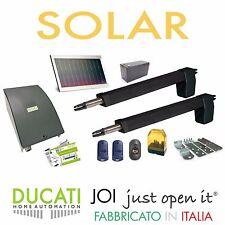 DUCATI HC812-300 SOLAR KIT Apricancello SOLARE  2 ante battenti Max 5m/500kg