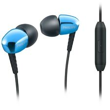 Philips SHE3905BL In ear headphones with mic SHE3905 Blue /GENUINE