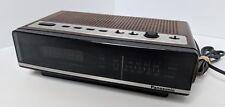 Vintage Retro Panasonic  AM/FM Alarm Clock Radio Model RC-68