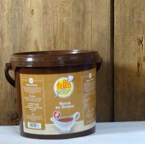 (EUR  9,95/kg) Sauce zu Braten ff (2 kg Eimer) Tellofix dunkle Bratensoße