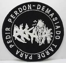 EKKAIA embroidery patch Fall of Efrafa Ictus Tragedy Leadershit Kylesa