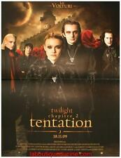 TWILIGHT 2 TENTATION Affiche Cinéma / Movie Poster 60x40 Kristen Stewart VOLTURI