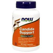 NOW Foods Candida capsules90 V caps Intestinal Gut Health Pau D Arco