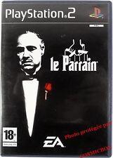 Le PARRAIN - jeu mafia pour console PS2 sony PlayStation 2 PAL testé + 18 ans