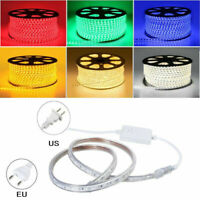 1-20m LED Strip Lights AC 220V-240V 60LED/M Waterproof 5050 SMD Lights Rope Xmas