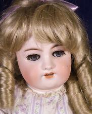 "22"" Gorgeous Antique Halbig Bisque Head Doll Handwerck Composition Body Blonde"