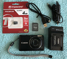 Canon PowerShot A2200 14.1MP Digital Camera - Black~ MINT~~4 GB SD~~Bundle~~