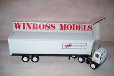 1980 Nussbaum Winross Diecast Delivery Trailer Truck