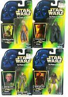 Star Wars Kenner POTF Weequay, Tarkin, Saelt-marae, Garindan 1996 Sealed