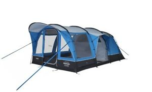 Vango Hudson 500XL 5 Person Family Exceed Poled Tent Sky Blue Free&fast Delivery