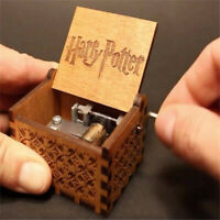 Harry Potter Music Box Engraved Wooden Music Box Interesting Toys Xmas Gifts