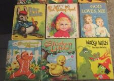 Lot of 8 small or Whitman Rand McNally children's books - LOTLUD