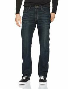 Levi's Signature by Levi Strauss NEW Blue Men Size 30x32 Straight Jeans $49 #064