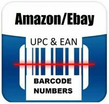 2000 UPC EAN Certified Code for Ebay,Amazon USAGenuine