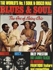 BLUES & SOUL MAGAZINE #288 CHIC, BILLY PRESTON, FAT LARRY/SLICK, AL HUDSON