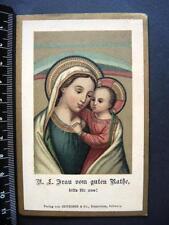 Heiligenbild ANDACHTSBILD  santino  IMAGE PIEUSE bidprentje LUXUSPAPIER  *81