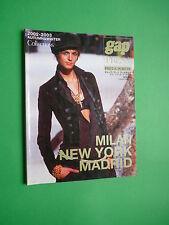 Gap Press magazine v 43 Autumn Winter 2002 Jacquetta Wheeler Fashion Pret Porter