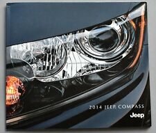 ORIGINAL 2014 JEEP COMPASS DELUXE BROCHURE & BUYERS GUIDE ~ 24 PAGES ~ 14JPCOM