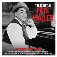 Fats Waller THE ESSENTIAL Best Of 50 Swingin' Songs COLLECTION New Sealed 2 CD